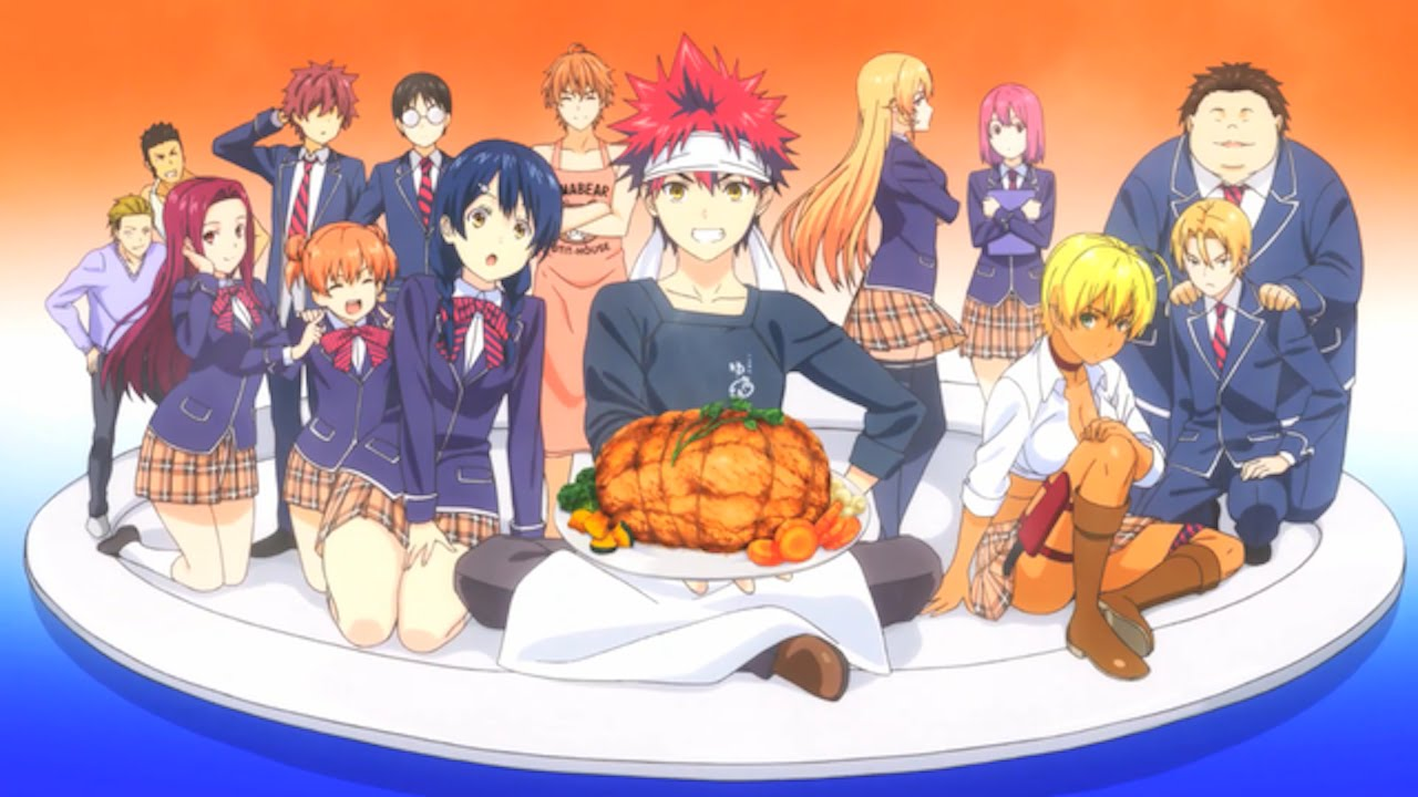 Food Wars Shokugeki no Soma Season 5 Episode 3