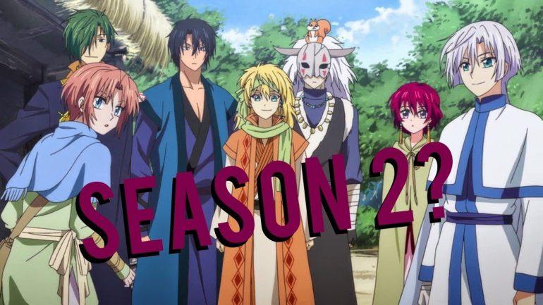 Yona Of The Dawn Season 2 release date