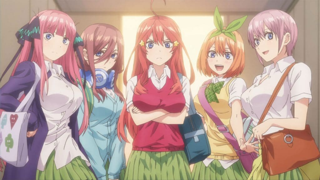 The Quintessential Quintuplets Season 2 Release