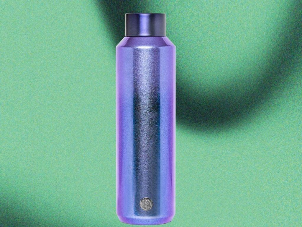 Purple Water Bottle from Starbucks