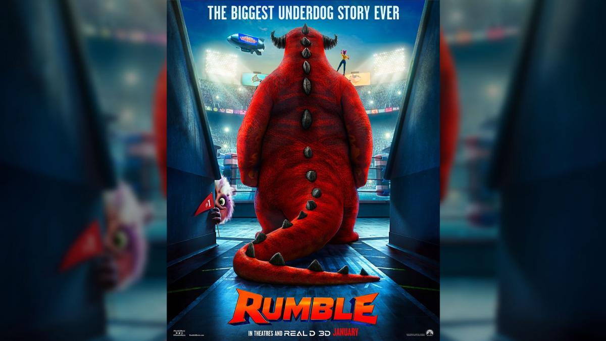 Paramount's animated 'Rumble' release date delayed